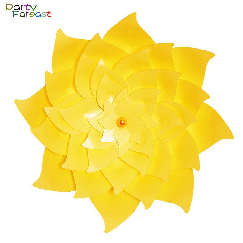 60 см Diy Бумажный Цветок Красочные Ручной 3d Наклейки Украшения Реквизит Для Свадьбы День Рождения Поставки Декор Цветы