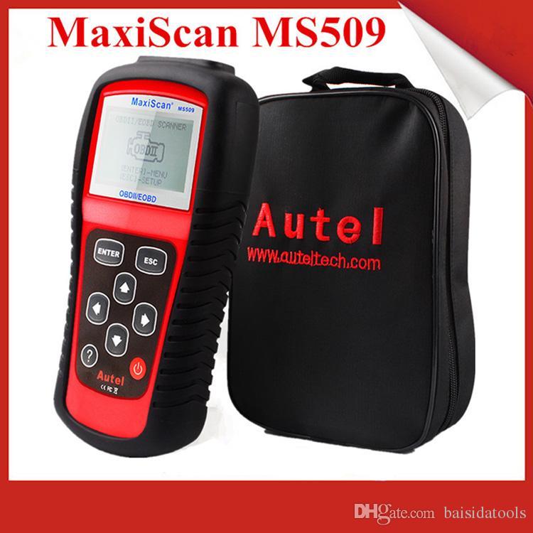 MS509 OBDII 자동차 탐지기 독서 코드 카드 판독기 자동차 결함 진단 판독기 수 FT232 칩 무료 배송 OBD2 EOBD 버스