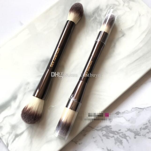 Hourglass SERIES AMBIENT LIGHTING EDIT BRUSH DUAL-ENDED PERFECTION Powder Highlighter Blush Bronzer Brush