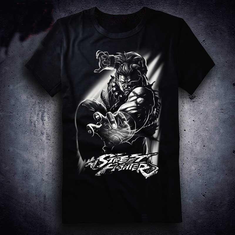 New Street Fighter 5 T Shirt Game Akuma Ryu Gouki Men T Shirt Cotton Summer Short Sleeve Tees Tops Print Shirt Long Sleeve Tee Shirts From Moiyystore 11 86 Dhgate Com