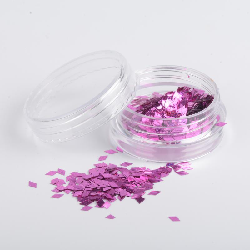 MiFanXi Or Rose Paillette Nail Glitter Poudre Métallique Manucure Nail Art Glitter Poudre De Chrome Décorations