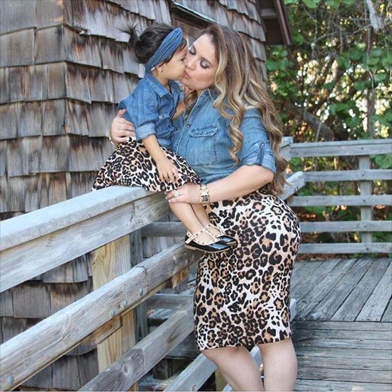 Newbaby Mamãe e filha Roupas Família Matching Outfits Parent-criança Outfits Mulher Bebê Outono Set