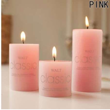 1 Pz Candele profumate Candela Craft Regali Wedding Column Wax Smokeless Candela profumata decorativa