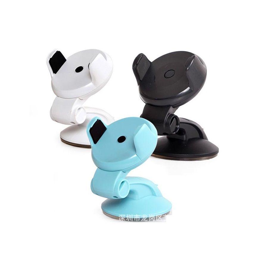새로운 자동차 전화 홀더 스탠드 360도 조정 아이폰 엑스 8 7 6 플러스 삼성 범용 휴대 전화 홀더 스탠드
