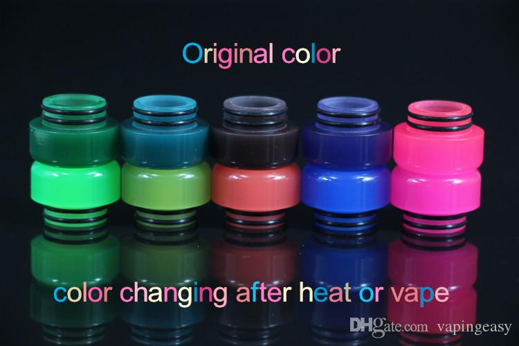 Newest 810 Mouthpiece Color Change Resin Drip Tip For Tfv8 Tfv12 Tfv8 Big Baby Color Changed After Heat Or Vape Canada 2020 From Vapingeasy Cad 2 33 Dhgate Canada