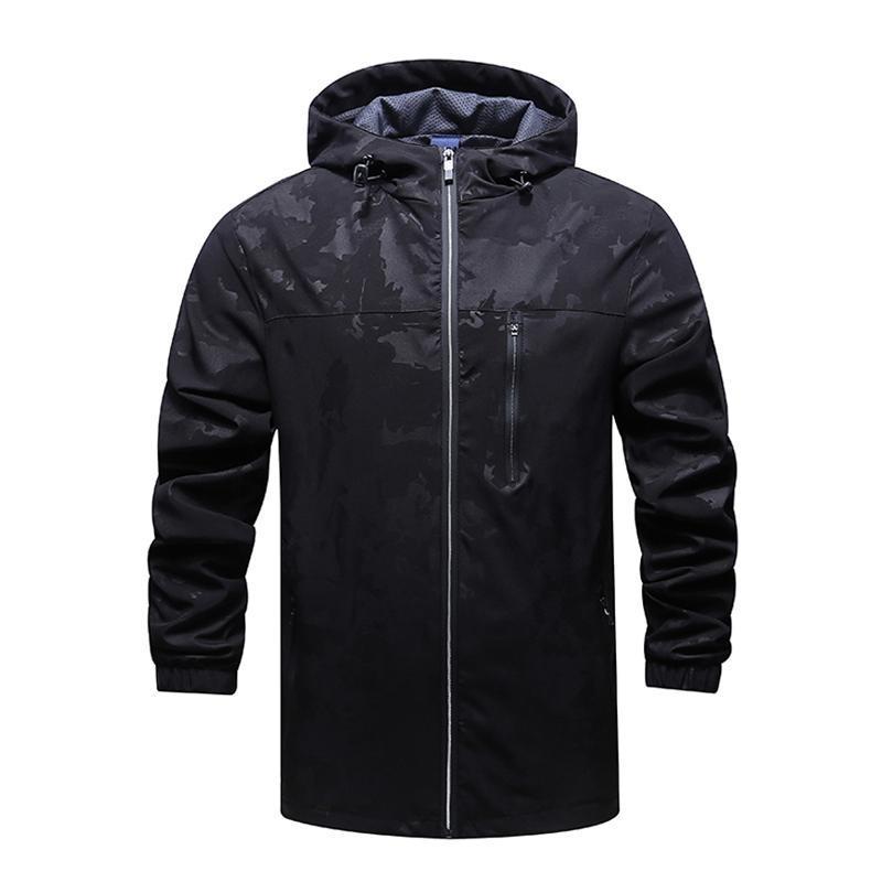 남성과 여성의 스포츠웨어 코트 방수 후드 자켓 카디건 캐주얼 재킷 캐주얼 자켓 봄 여름 가을 겨울 송료 무료