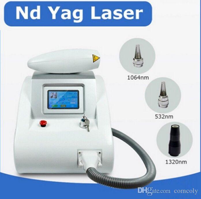 3 en 1 2000MJ écran tactile Q Commutateur ND Laser Machine de beauté détatouage Scar acné 1064nm 532nm DHL 1320 nm Livraison gratuite