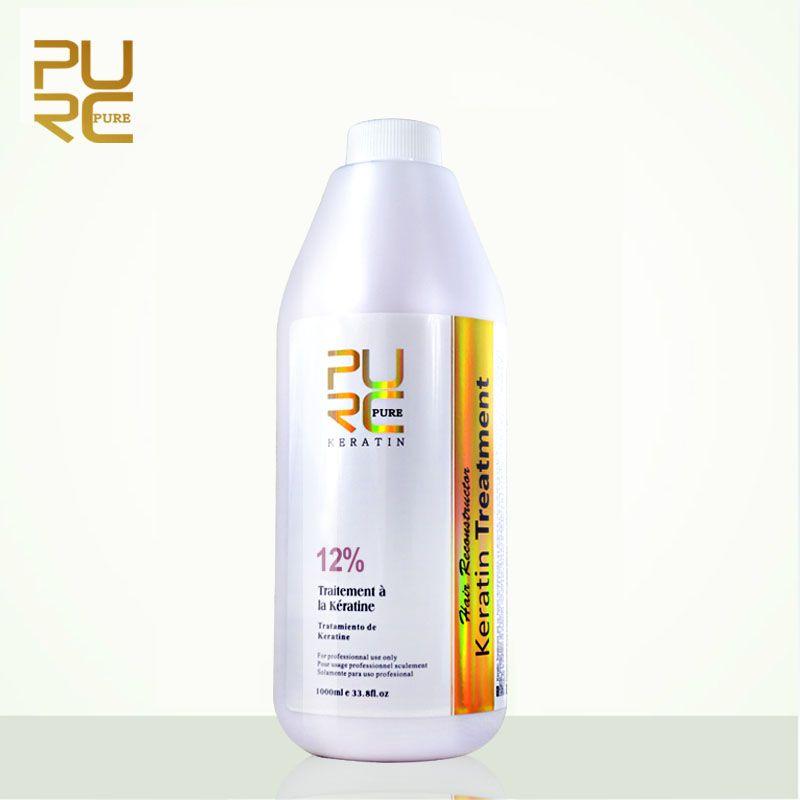 PURC Hot sale straightening hair product 12% brazilian keratin for deep Curly hair treatment wholesale hair salon