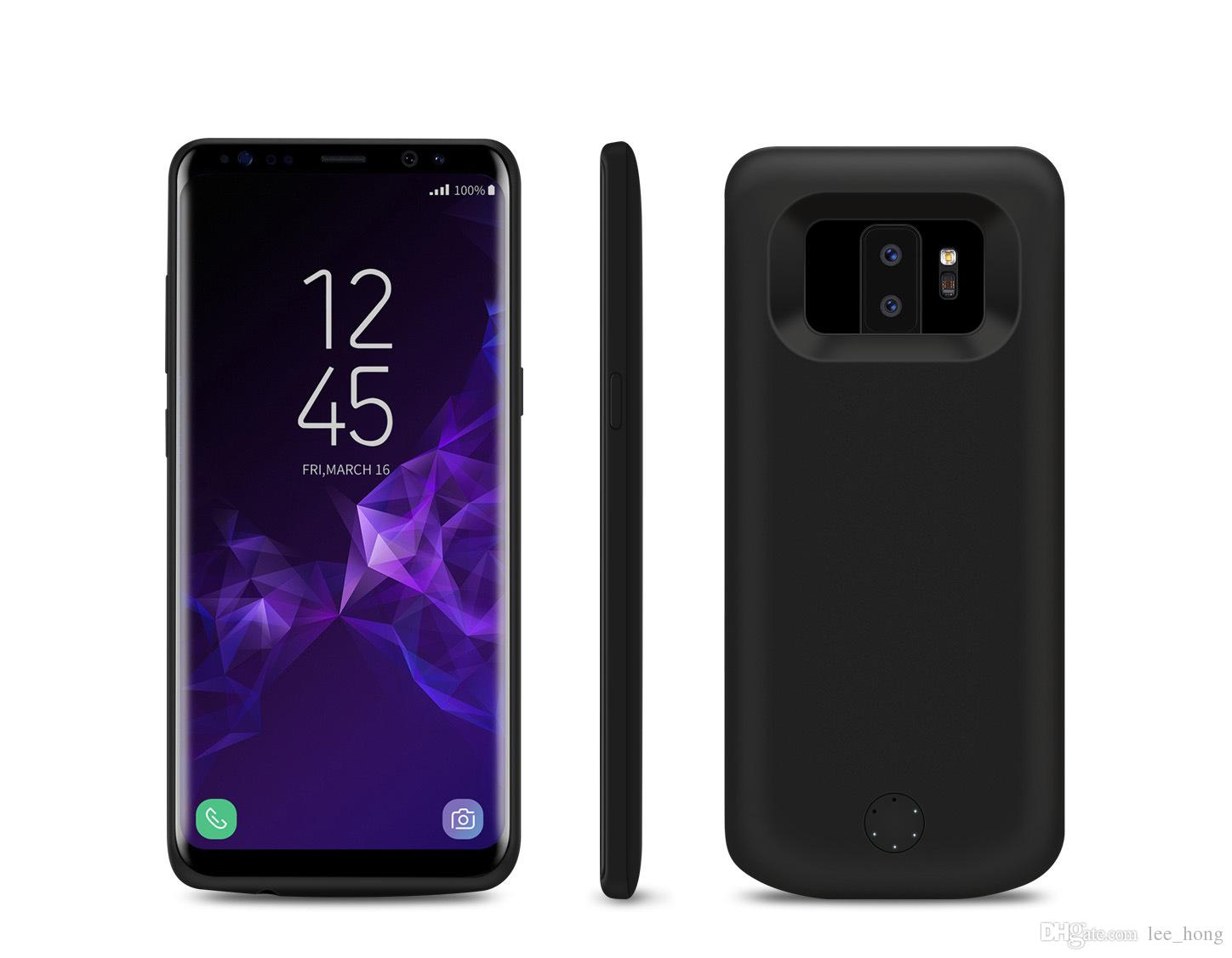 size 40 2a0aa 75300 2019 Galaxy S9 Power Case External 5000mAh Portable Backup Charger Pack  With Soft TPU And Full Edge Protection Type C Extended Battery Case From ...