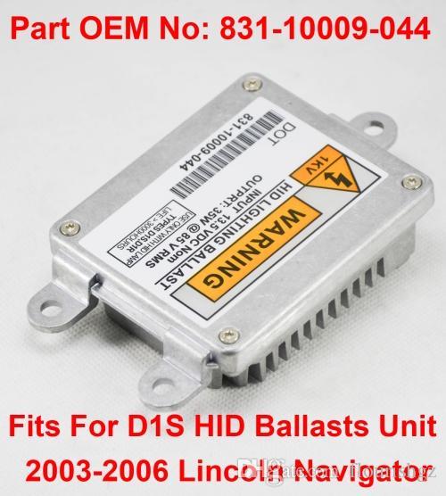 1PCS 12V 35W D1S OEM HID Xenon Headlight Ballast Computer Control Unit Car Part Number 831-10009-044 Fits For Lincoln Navigator 2003-2006