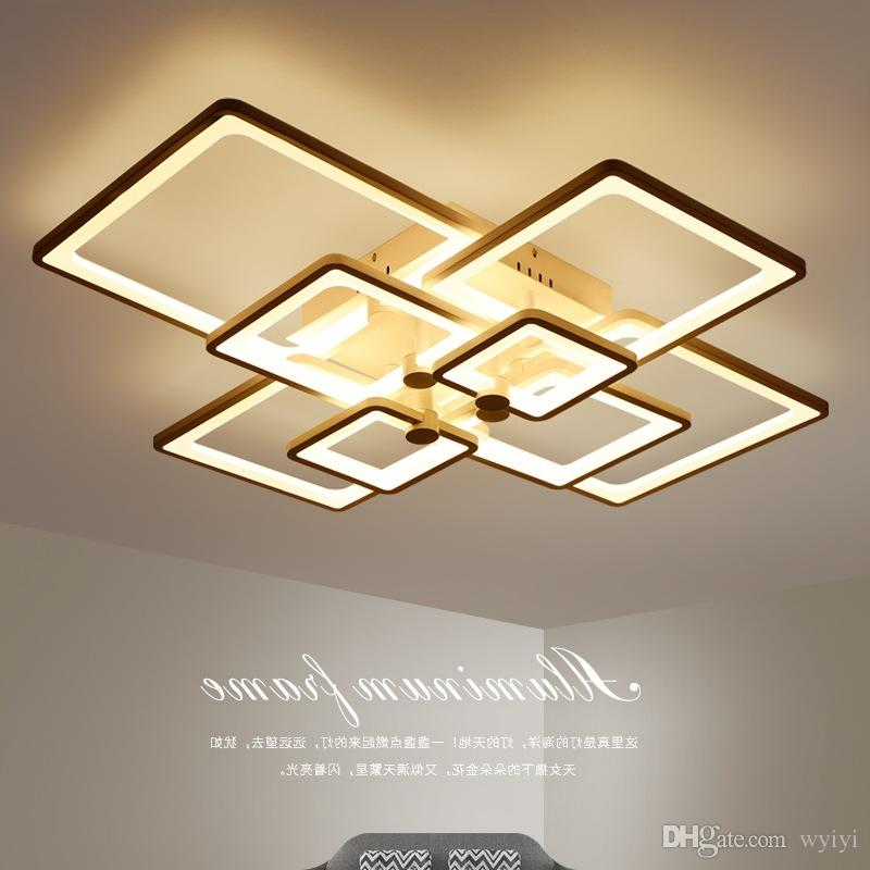 현대 LED 천장 샹들리에 조명 침실 거실에 대 한 LED 램프 Lampadario Moderno Lustre 샹들리에 조명 AC85-265V