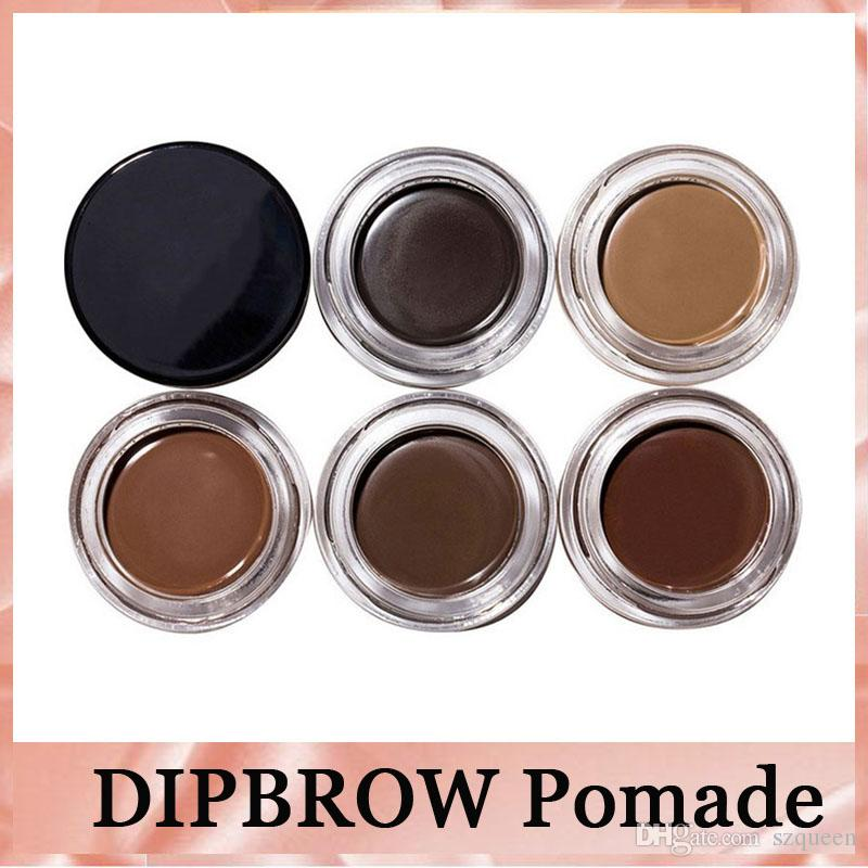 2017 New Eyebrow Pomade Eyebrow Enhancers Makeup Eyebrow 8 Colors With Retail Package DHL free shipping