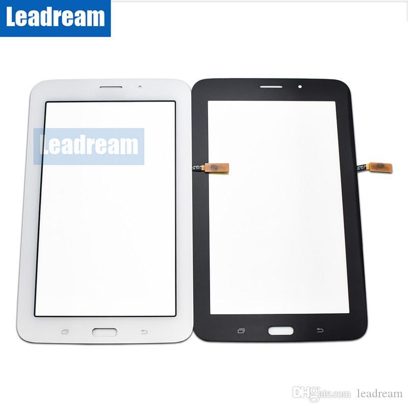 Сенсорный экран Digitizer стекло объектива с лентой для Samsung Galaxy Tab 3 7.0 T113 Tab 4 7.0 T116 бесплатная доставка DHL
