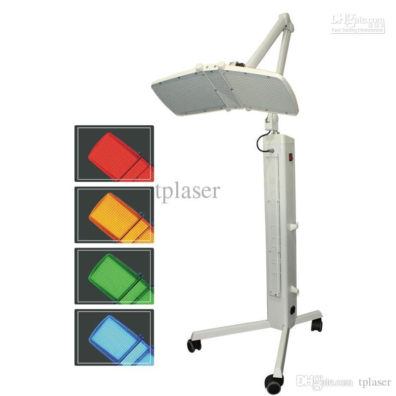 뜨거운! 빨간색 / 파랑 / 노란색 / 녹색 조명 큰 고전력 LED 램프와 PDT LED 라이트 테라피 미용 기계