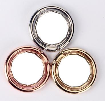 Supporto per anello in metallo di qualità universale Supporto per anello in metallo per smartphone Supporto per asta per cellulare per iPhone X 8 Tablet Samsung con Packag