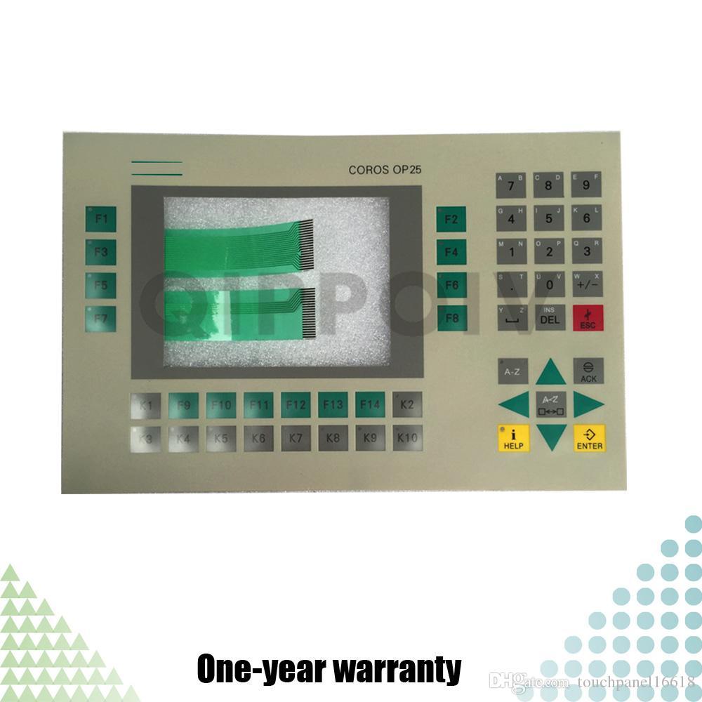 OP25 6AV3525-1EA01-0AX0 6AV3 525-1EA01-0AX0 Neue HMI PLC Folientastatur Folientastatur Industrielle Steuerung Wartungsteile