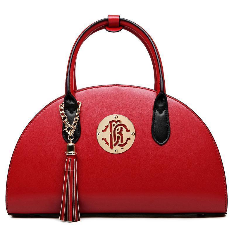 Luxe Lady Sac à bandoulière Sacs à main Femme Sacs Fille Fourre-Tout Sacs Sweet Handbag Mode Dames Célèbre Marque Rouge Noir Solide Sac à Main Cross