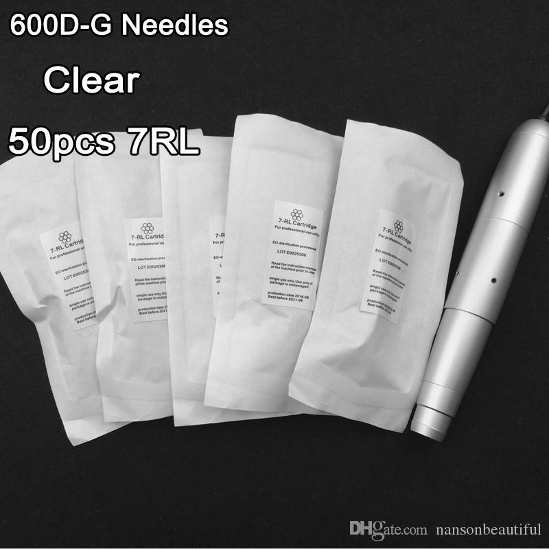 Meilleures ventes 600D-G 7RL aiguilles ou le maquillage permanent 7RS 7mm Lips Sourcils Eyeliner aiguilles de tatouage pour Nouveau machine à maquillage permanent Pen