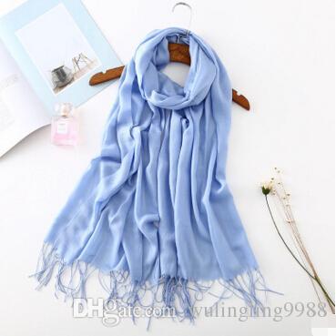 Hot Sale Cotton Linen Scarves sheepskin cashmere lady scarf Tassels Shawls smooth warm vertical sundries cashmere cotton couple shawl scarf