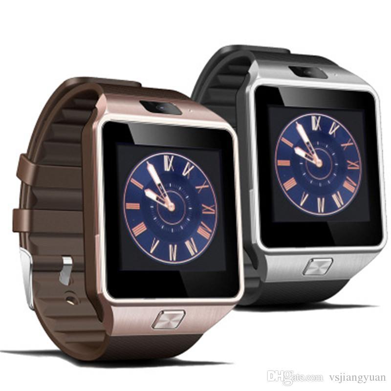 DZ09 smartwatch android GT08 U8 A1 Samsung relojes inteligentes SIM El reloj inteligente del teléfono móvil puede registrar el estado de suspensión del reloj inteligente