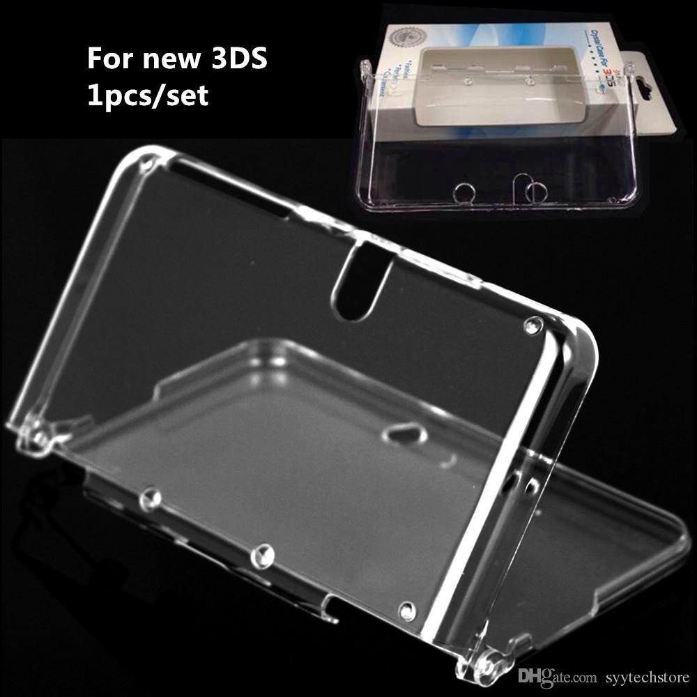 Syytech Protective 1-Pieces Anti-Screy Hard Shell Funda de cristal Cubierta transparente para 3DS Disponible en stock
