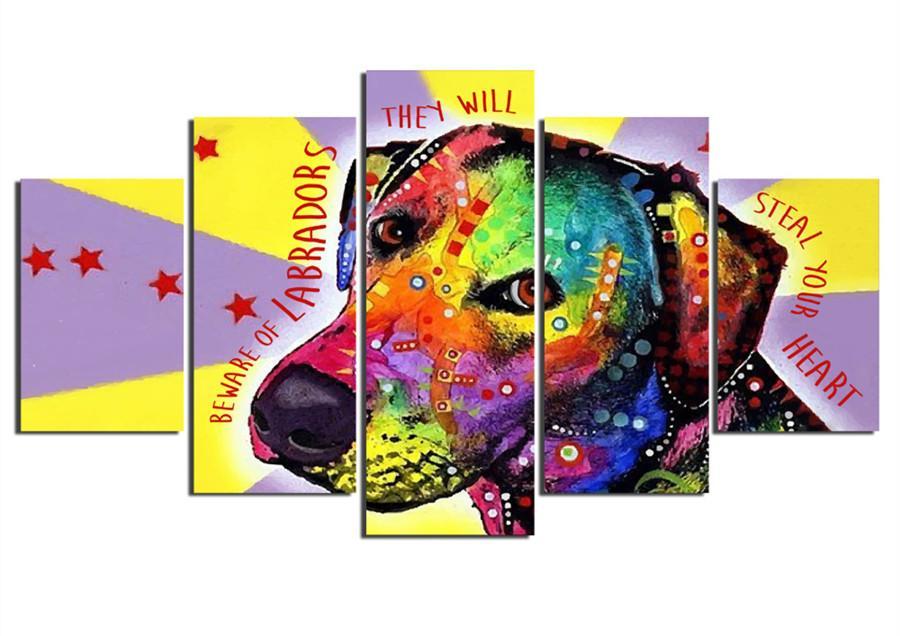 Multi-picture Diamond Painting cross-stitch labrador dog diy Diamond Mosaic bead embroidery Rhinestones Pattern home Decoration
