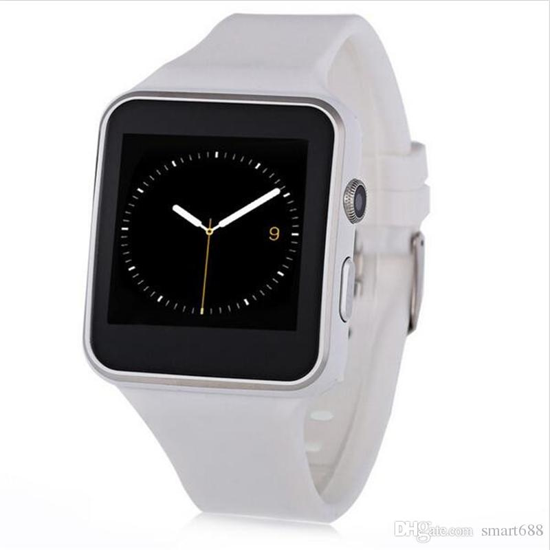 Bluetooth Smart Watch X6 Sport Passometer Smartwatch with Camera Support SIM Card Whatsapp Facebook for Android Phone