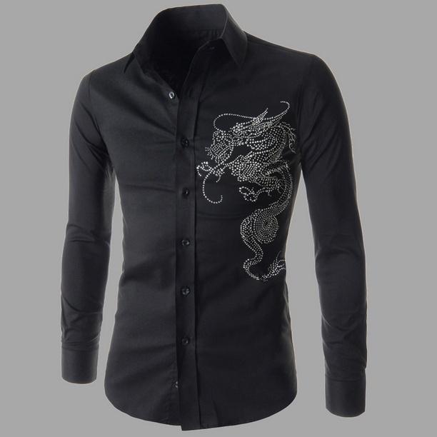 Men's Hoodies & Sweatshirts Geek Spring Shirt Long Sleeve