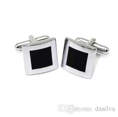 Новый квадратный запонки для мужчин классический метр запонки для свадьбы медные рубашки манжеты кнопка запонки для мужские ювелирные изделия