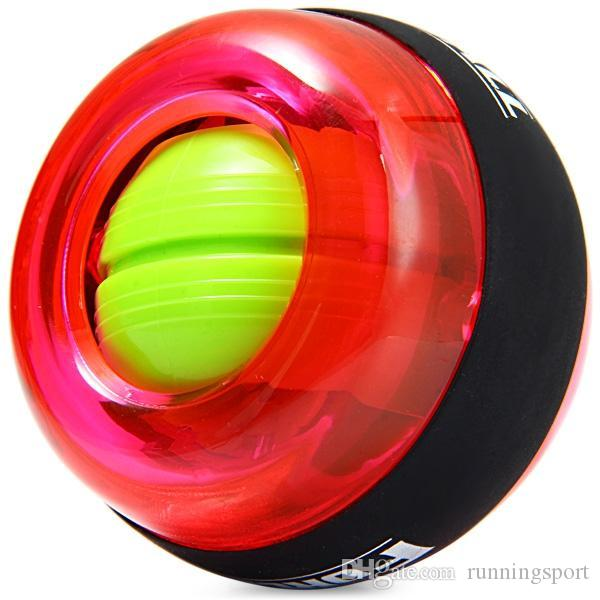 Gyroscope Workout Wrist Arm Green Hand Muscle Force Power Exercise Strengthen Ball Trainer Fitness Equipment (Random color)