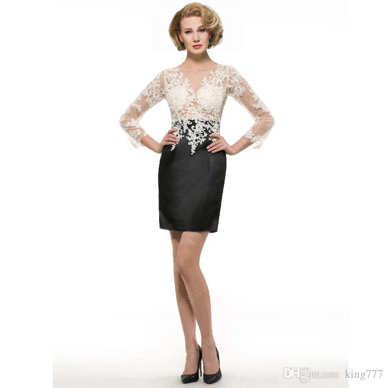 Fait sur mesure! Meilleure vente sexy perspective mince dames robe de soirée Exquis main coupe de mode modèle sac de dentelle robe courte hanche