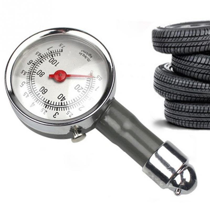 PCT6105 AUTO Air Pressure Meter Tester Diagnostic Tool Car Repair Test Metal High Precision Tire Pressure Tester