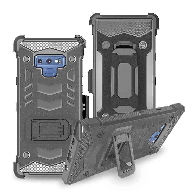 Wholesale Holster Bossy Combo Case For MOT E5 Cruise/E5 play /E5 PLUS/ X5/ E5 Supra PC+TPU Mobile Cover Phone Case