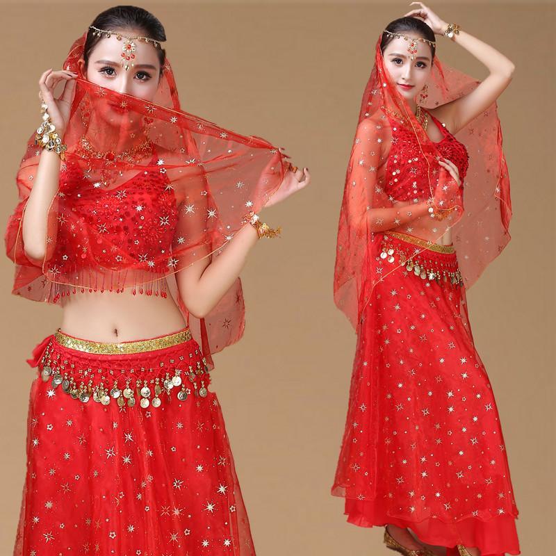 زورو KNI GHT جديد الكبار حلي الرقص شينجيانغ رقص شرقي اللباس العقرب البكر أداء مجموعة مقلدة