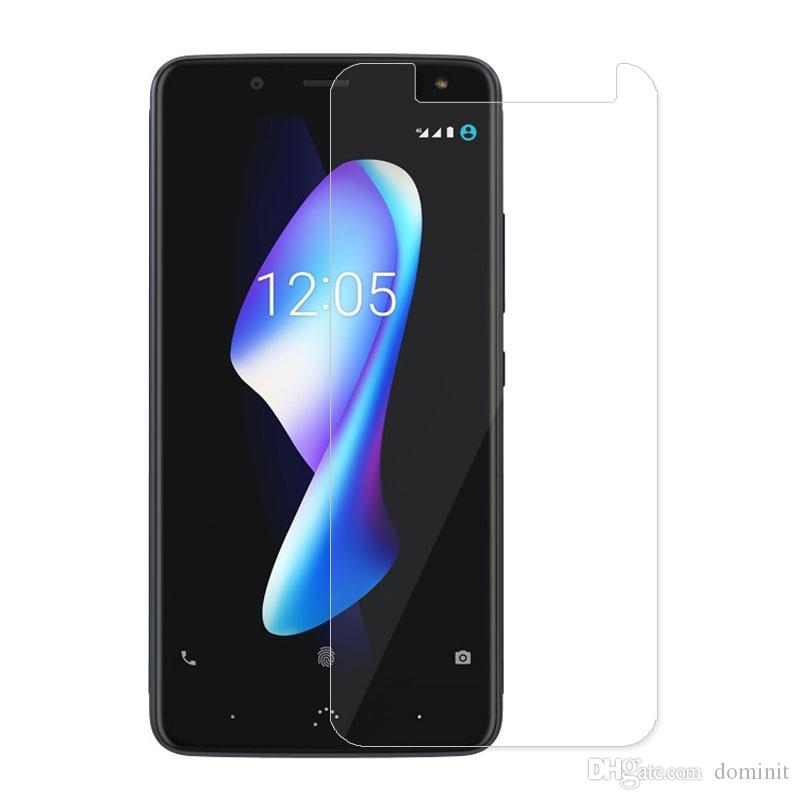 For BQ Aquaris M2017 Tempered Glass Screen Protector 9H Hardness 2.5D Anti-Scratch Oleophobic Coated Shock-proof Anti-shatter