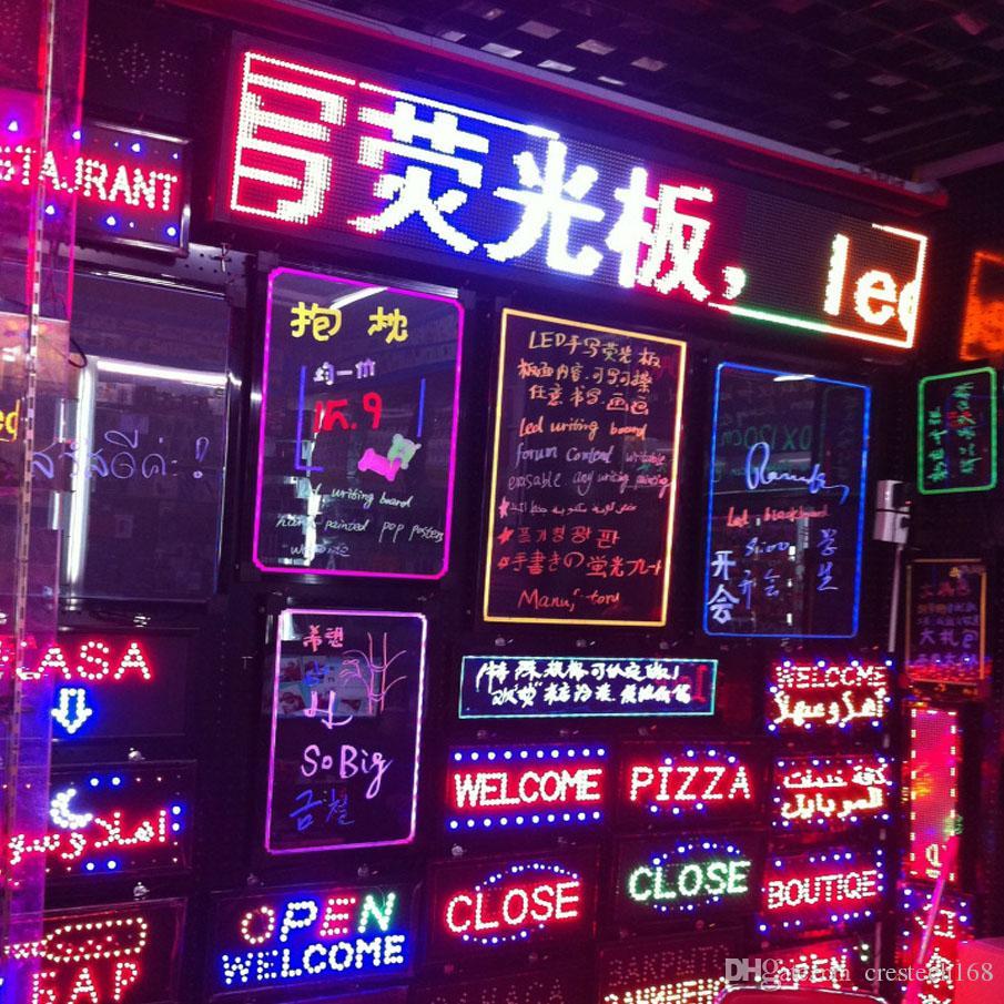 LED enseigne au néon pour application commerciale bar magasin hôpital ouvert sur mesure enseigne au néon, magasin de café lumineux bar lettre signe nom