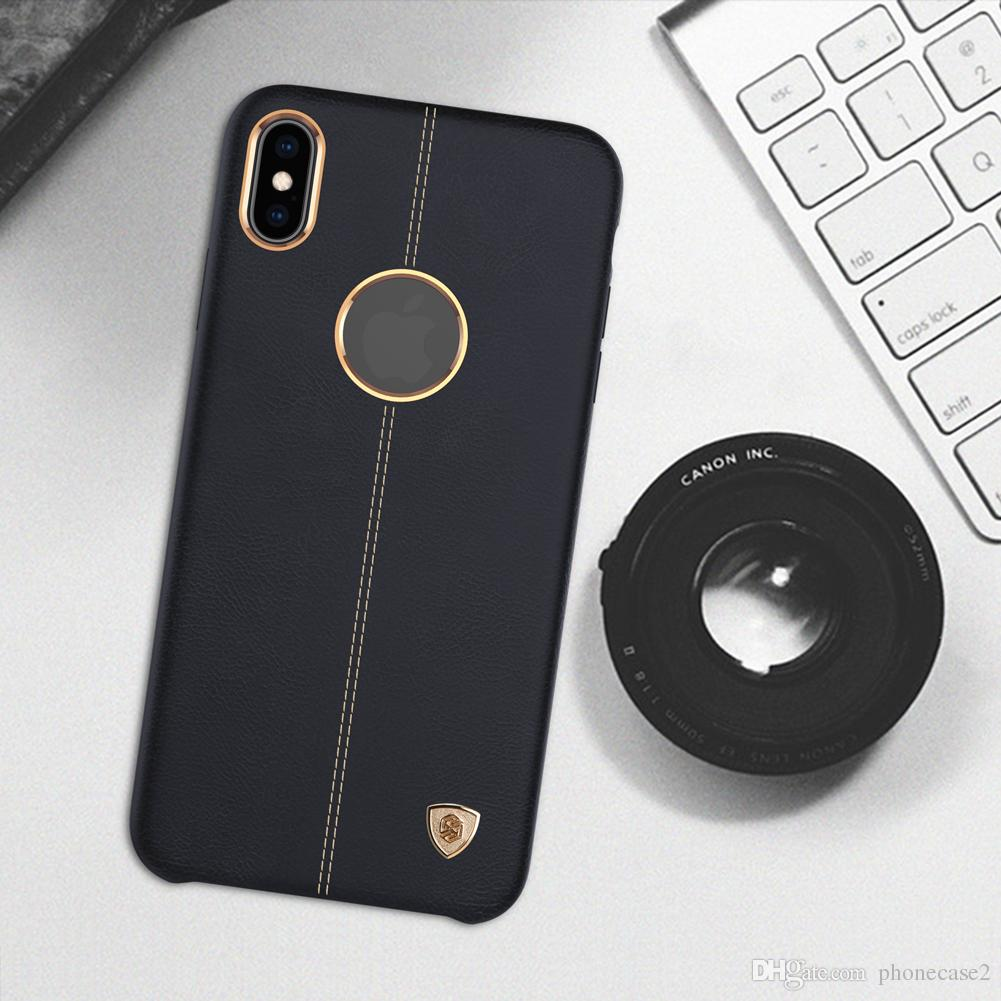 Apple iPhone Xs Englon Pelle Cover copertura
