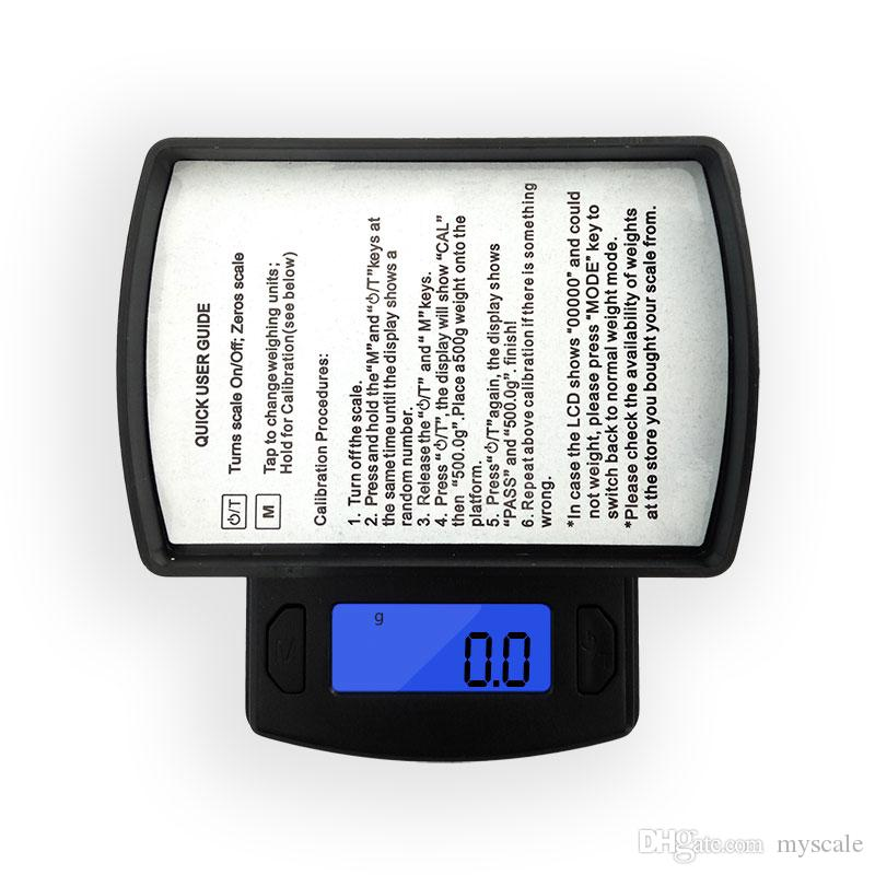 600g * 0.1g Pocket Electronic Scales Mini LED Display Jewelry Digital Kitchen Scale Libra Balance High Precision Weighing Measure Tools