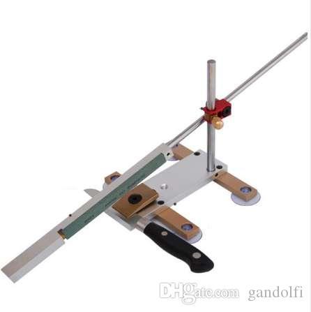 الطاهي سكين مبراة نظام طحن أبيكس نظام مبراة فيكس زاوية سكين شحذ أدوات معدنية كاملة 4 قطع المشحذ