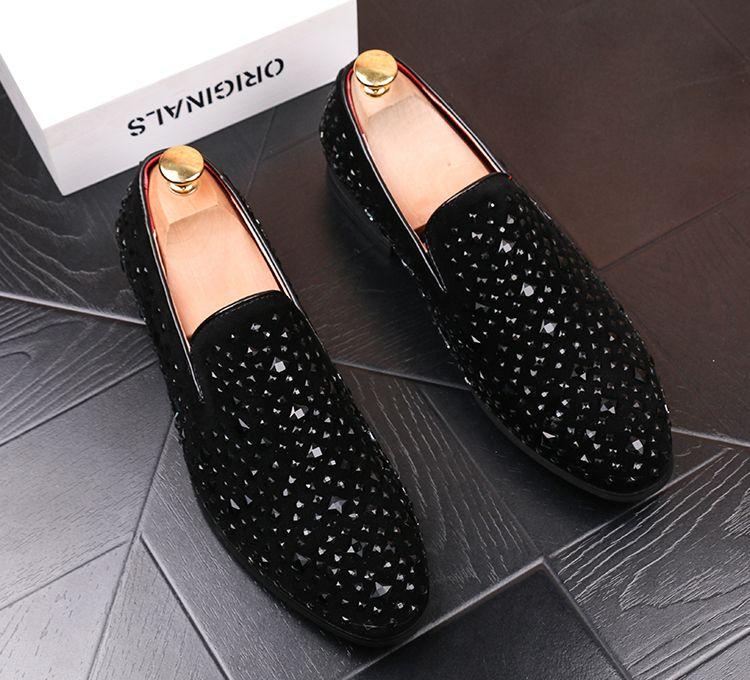 New Men Glitter Shoes New Mens Fashion