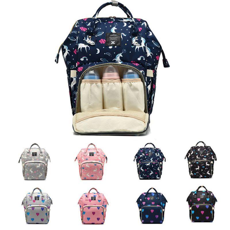 Alta qualità Mummy Maternity Diaper Bag Grande Nursing Zaino Viaggi Designer Passeggino Kid per la cura della Nappy zaino del bambino