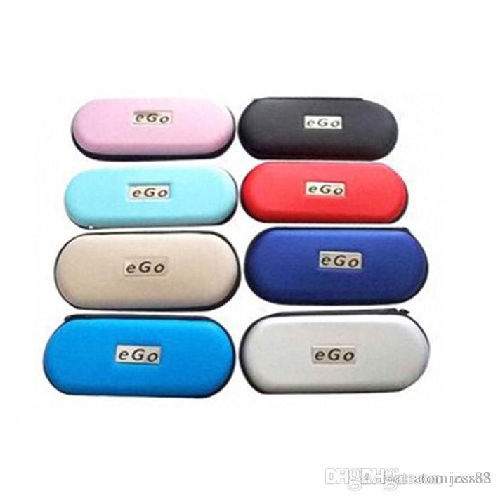 Ego zipper Carry Case E-cigarette eGo Case Portable Bag Ego Box E Cigarette Leather Bag For Evod Ce4 Ce5 vape Mod