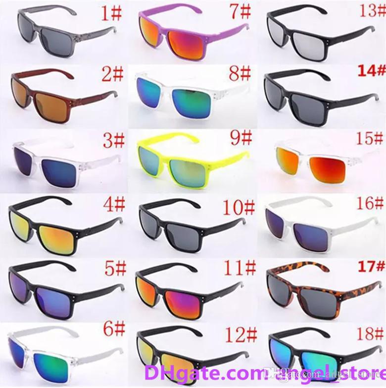 럭셔리 선글라스 UV400 보호 9102 스포츠 선글라스 남자 여자 Unisex 여름 그늘 안경 야외 사이클 일요일 유리 도매