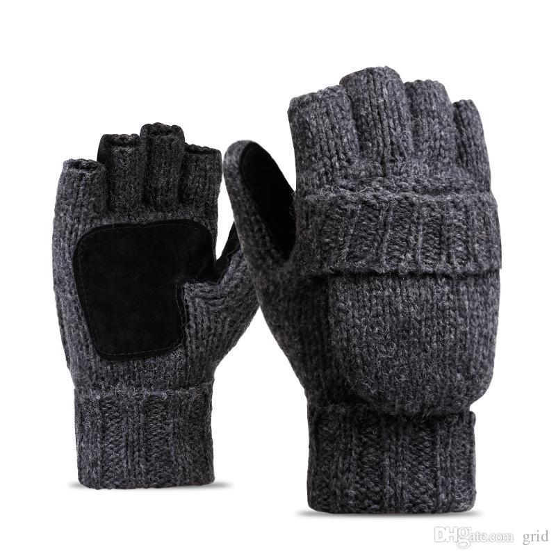 Сетка 2 В 1 High Quality Женщина шерсти перчатки Европейский Модельер Теплые перчатки вождения Велоспорт перчатки