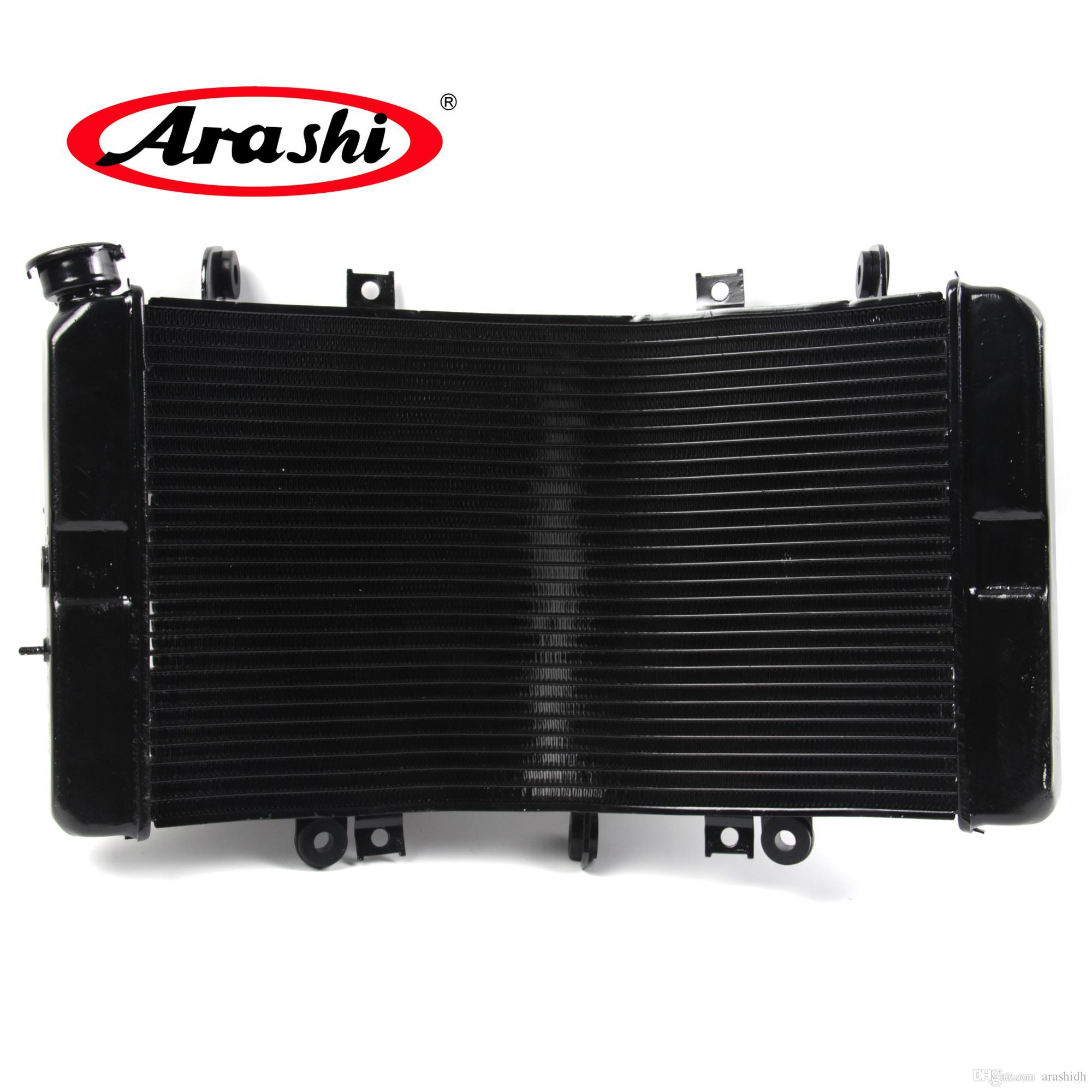 Arashi Radiador para Suzuki 1300 2008 - 2016 de refrigeración refrigerador GSX R GSXR Hayabusa GSXR1300 2009 2010 2011 2012 2013 2014 2015 Negro