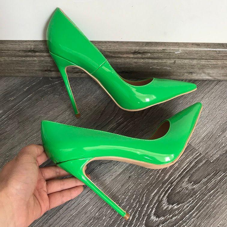 Shop - green pump shoes ladies - OFF 61