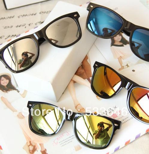 Toptan Satış - Toptan-OP-10 Adet / lot + Yeni gelenler Moda Yansıtıcı Anti-Yansıtıcı Polarize lensler Unisex gözlük Güneş Açık