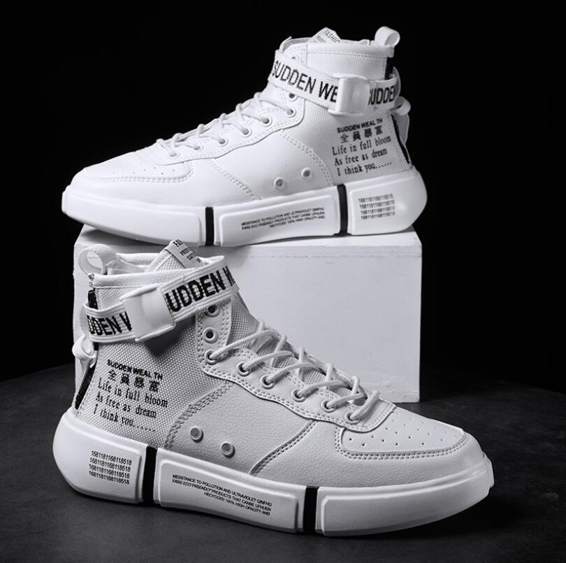 Hot New Mens Zapatillas de deporte de otoño Marca de alta calidad Zapatos casuales Hombres Productos de moda Botas de fútbol