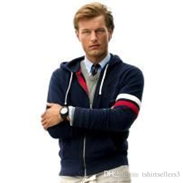 무료 배송! 클래식 브랜드 남성 티셔츠 후드 & 스웨터 가을 겨울 100 % 코튼 큰 남성용 후드 사이즈 S - 2XL.