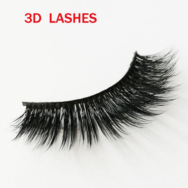 Hot sale Private Logo Acceptable Fashion Lash Black Strip Fake Lashes faux human hair false lashes Natural Thick Soft Fake Eyelashes GR272